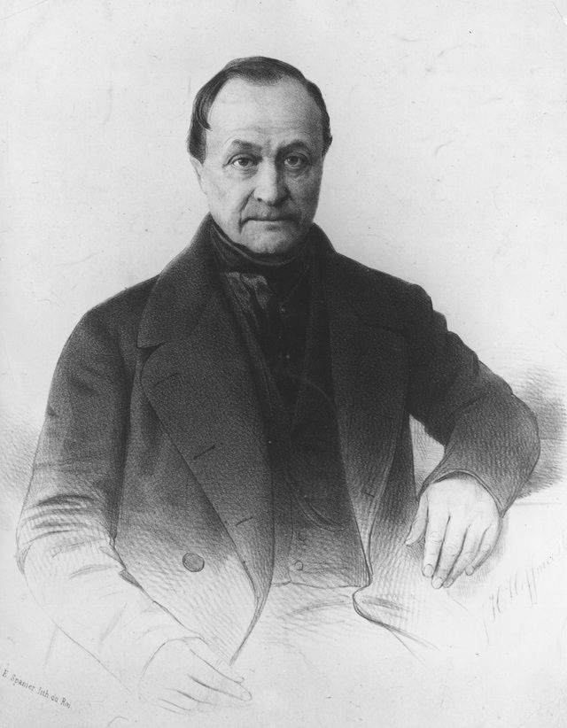 Auguste Comte (1798–1857), was a French philosopher, was a founder of the discipline of sociology and of the doctrine of positivism. Sometimes regarded as the first philosopher of science. Strongly influenced by the utopian socialist Henri Saint-Simon, Comte developed the positive philosophy in an attempt to remedy the social malaise of the French Revolution, calling for a new social doctrine based on the sciences. Was a major influence on 19th-century thought.