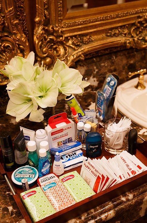 The Ultimate Wedding Emergency And Bathroom Amenities Checklist