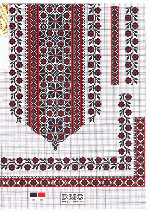 Gallery.ru / Фото #39 - Вишиті жіночі сорочки (схеми) - kolirbarvi