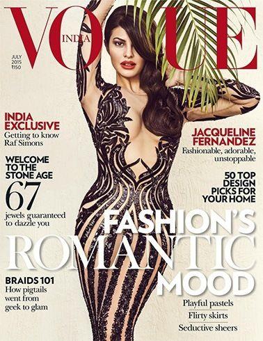 Jacqueline Fernandez on Vogue   #JacquelineFernandez #Magazine