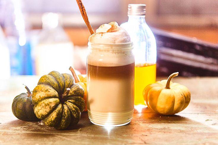 Dýňové latte