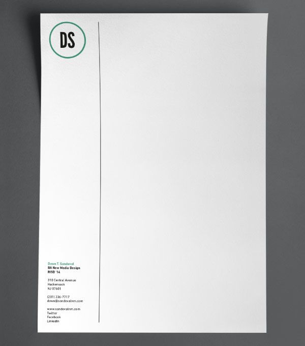 letterhead designs initial hello more