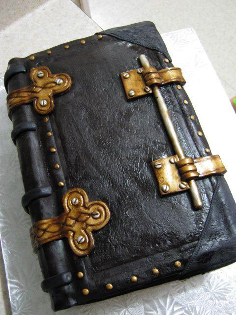 Dragon on a Book cake 3.0 — Fantasy/Gothic/Fairytale