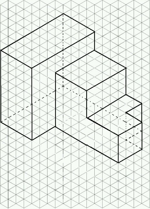 Isometric Drawing: Geometric Design