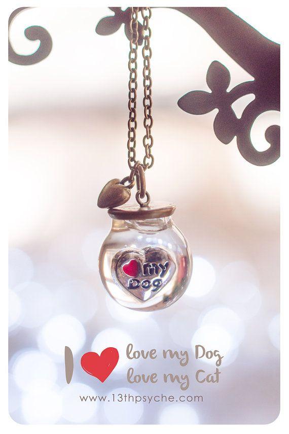 Del animal doméstico Collar de globo de amor Orbe por 13thPsyche