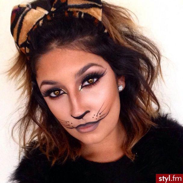 9 best maquillaje artístico images on Pinterest - cat halloween makeup ideas