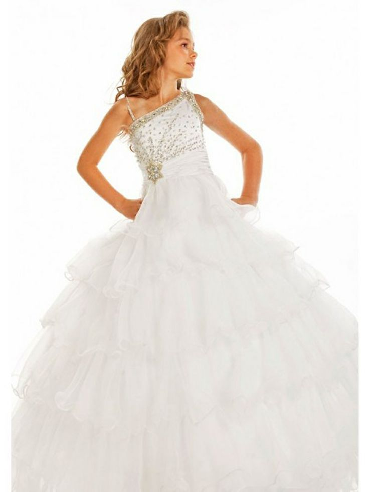 140 best pageant dresses images on pinterest bridesmaid for Dresses for 10 year olds for a wedding