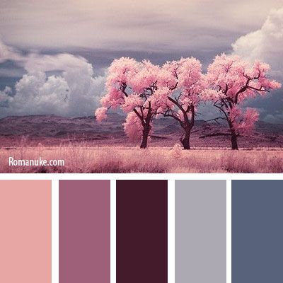 "Never really gave this much thought before but this IS a very good way of narrowing down to a finished color scheme ""BEFORE"" you go & buy the paint. Very often we have something in a room or that we would like to put in a room that can help us to choose the colors for that room. In this case this picture set the overall mood & guide to the color scheme. A very good approach I think ;)"