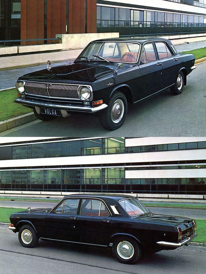 1967 GAZ Volga M24 / Russia / black / 17-276