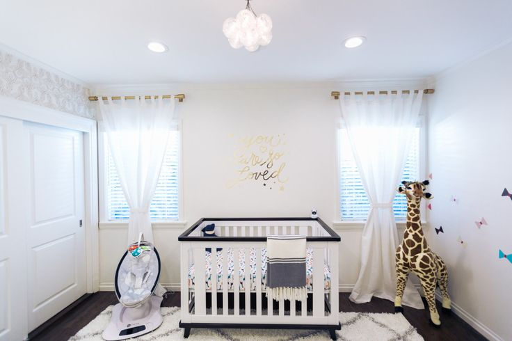 Neutral Nursery with Gold Accents