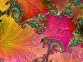 Newton 555 Spirale,Geschwungen,Dynamik,Räumlich,Bewegt,Abstrakt,Künstlich,Geschwungen,Form,Verstand,Intelligenz,Impulsiv,Künstlich,Pink,Weiss,Stilistisch,Kontrast,Aktiv,Rendering,Digitalart,Computer,Mathematik,Muster,Ornamental,Claudia Gründler,Digitale KunstComputerkunst,Fraktale Kunst,Algorithmus,Collage,Extravagant