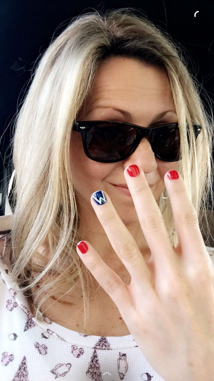 Chicago Cubs Nail Polish - What It's Like To Be On The Ellen Show!