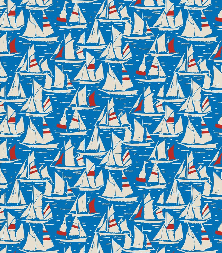 """Washed Boats Cobble"" nautical print from Seasalt Cornwall AW16 collection"