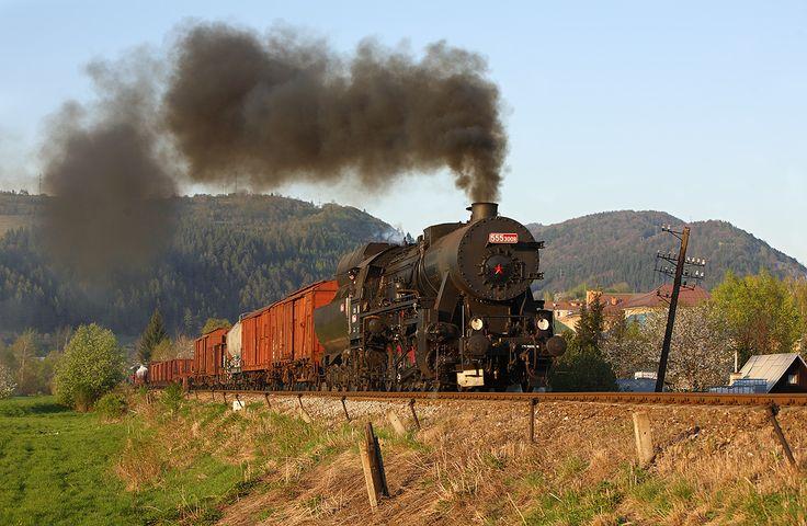 Němka s nákladním vlakem