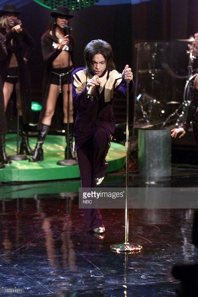 My Purple World — Jay Leno Show 2001