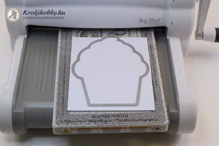 Cupcake üdvözlet - Thinlits 661843