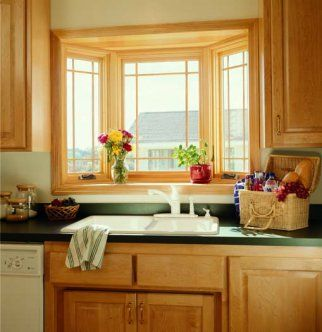 Bay Window Over Sink