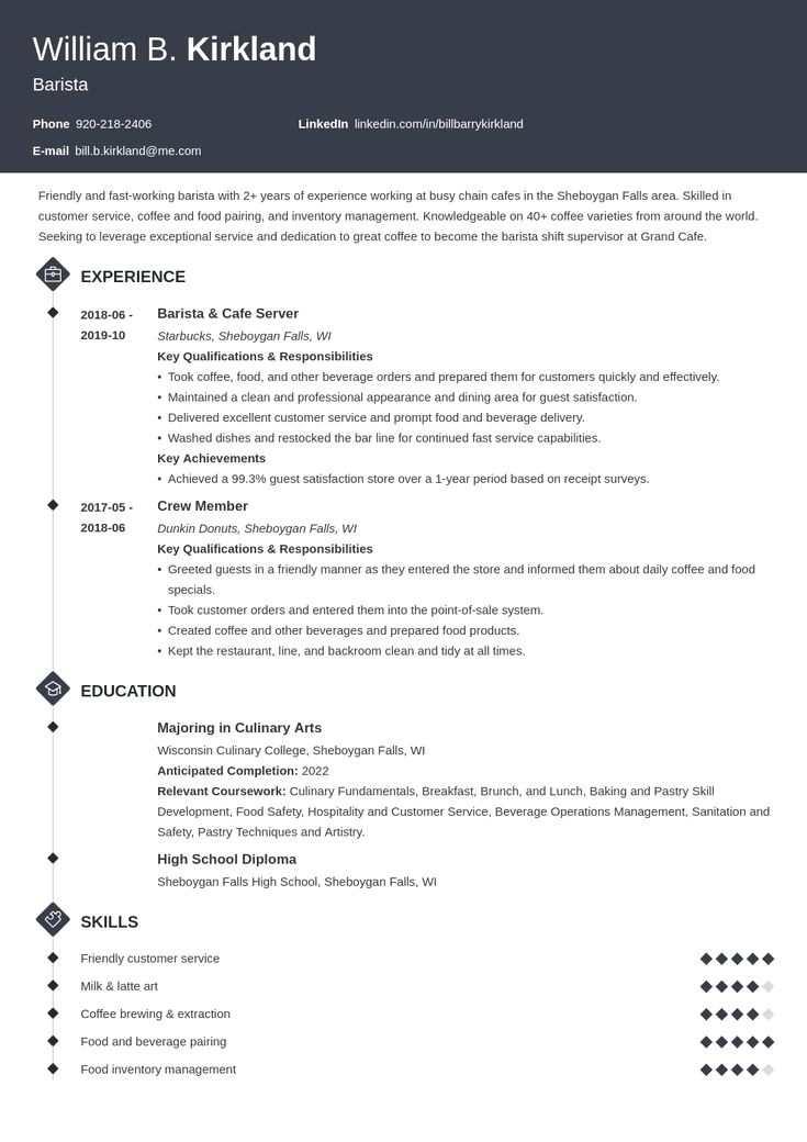 Resume Template With Headshot Photo Cover Letter 1 Page Word Resume Design Diy Cv Template Job Resume Examples Resume Examples Simple Resume Template