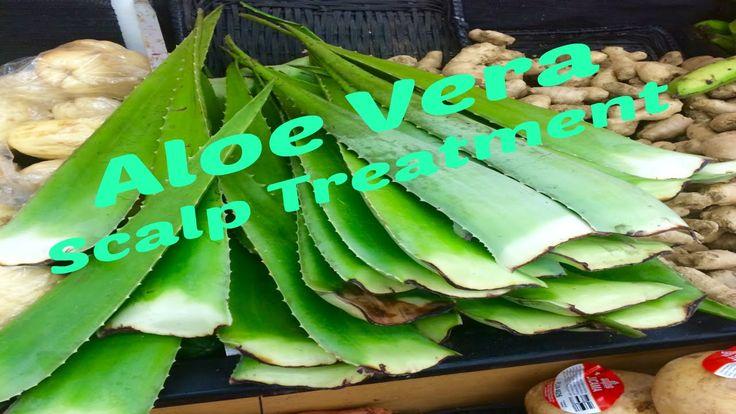 Aloe Vera Scalp Treatment: Refresh & Moisturize dry, itchy, flaky scalp