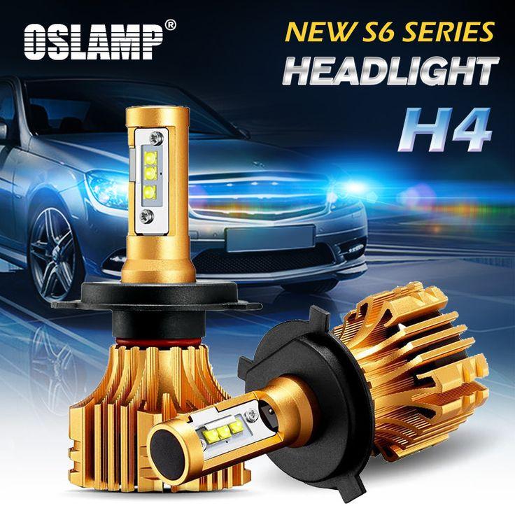 Get Oslamp 2pcs Hi-Lo Beam H4 LED Car Headlight Kits 6500K White SMD Chips 7000LM 70W Super Bright Auto Front Bulbs Led Car Light #Oslamp #2pcs #Hi-Lo #Beam #Headlight #Kits #6500K #White #Chips #7000LM #Super #Bright #Auto #Front #Bulbs #Light