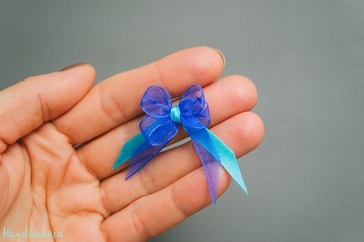DIY Tiny Bow - The Idea King