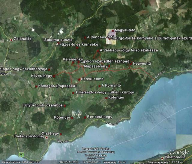 A Káli-medence geológiai látványosságai | www.mfgi.hu