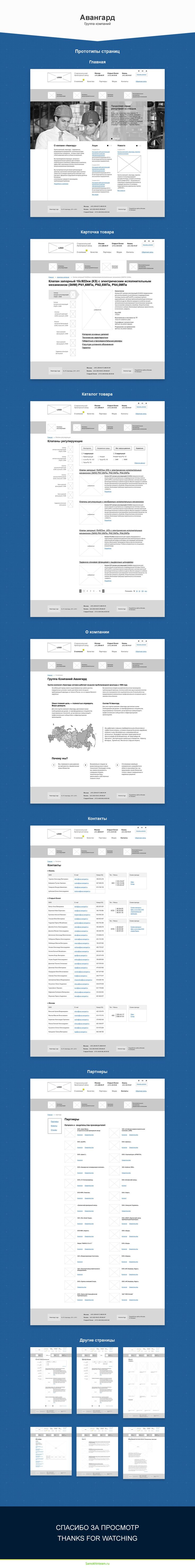 Задача: разработать прототипы для сайта компании Авангард. Клиент должен без проблем найти продукт, который его интересует и узнать его технические характеристики.  Решение: разрабатываем прототипы всех страниц. Продумываем на страницах продукции три варианта фильтра, для удобства поиска и сортировки товара по категориям. Всего было разработано 11 прототипов страниц.  Заказ выполнен для студии Astonia
