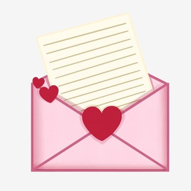 Pink Envelope Red Heart Shape White Love Letter Valentines Day Present Letter Clipart Cartoon Illustration Hand Drawn Valentine Illustration Png Transparent Valentines Envelopes Valentines Illustration Valentines Wallpaper
