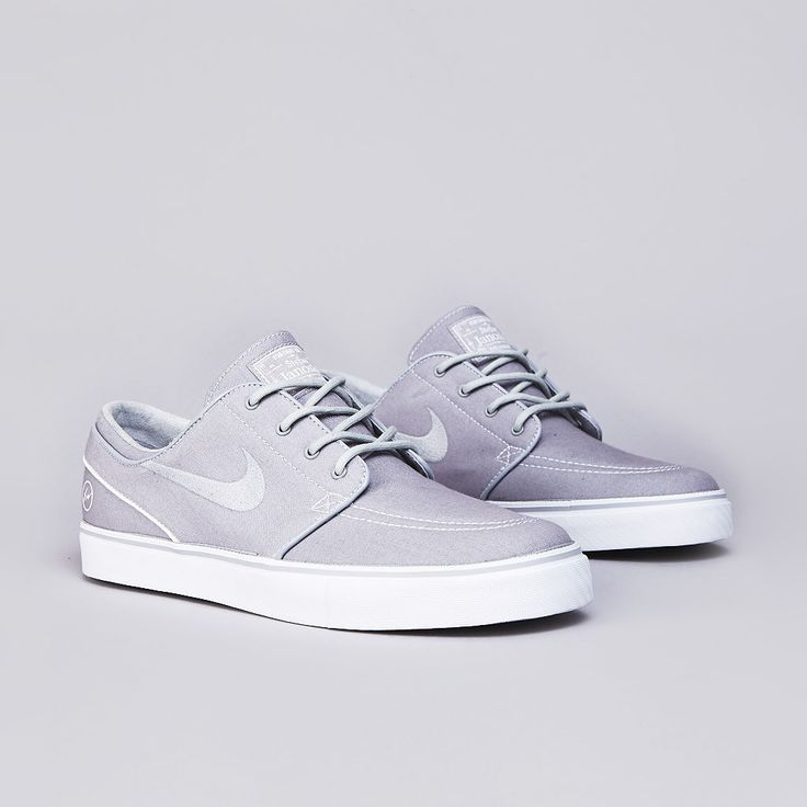 """fragment design x Nike SB Zoom Stefan Janoski """"Wolf Grey"""""""