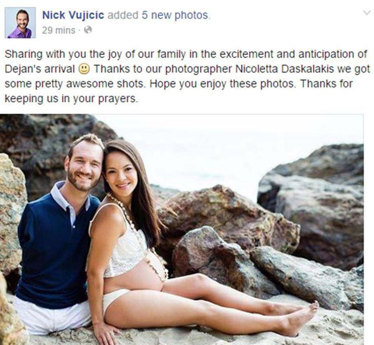 Nick Vujicic And His Wife Kanae