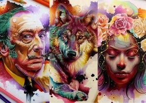 As Ilustracoes Do Artista Vareta Obras De Arte Producao De Arte