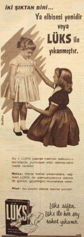 OĞUZ TOPOĞLU : lüks çamaşır sabunu 1959 nostaljik eski reklamlar ...