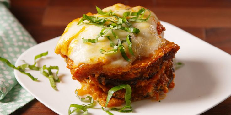 Slow-Cooker Eggplant Parm - Perfect eggplant parm without the hassle of frying!