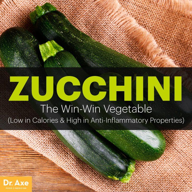 Zucchini nutrition - Dr. Axe