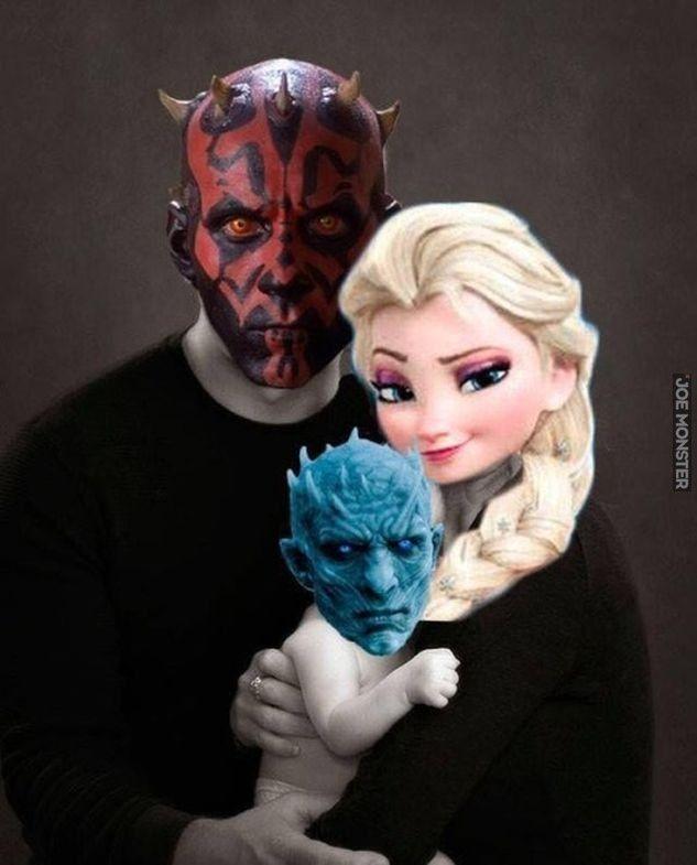 Szczęśliwa rodzinka multikulti - Joe Monster