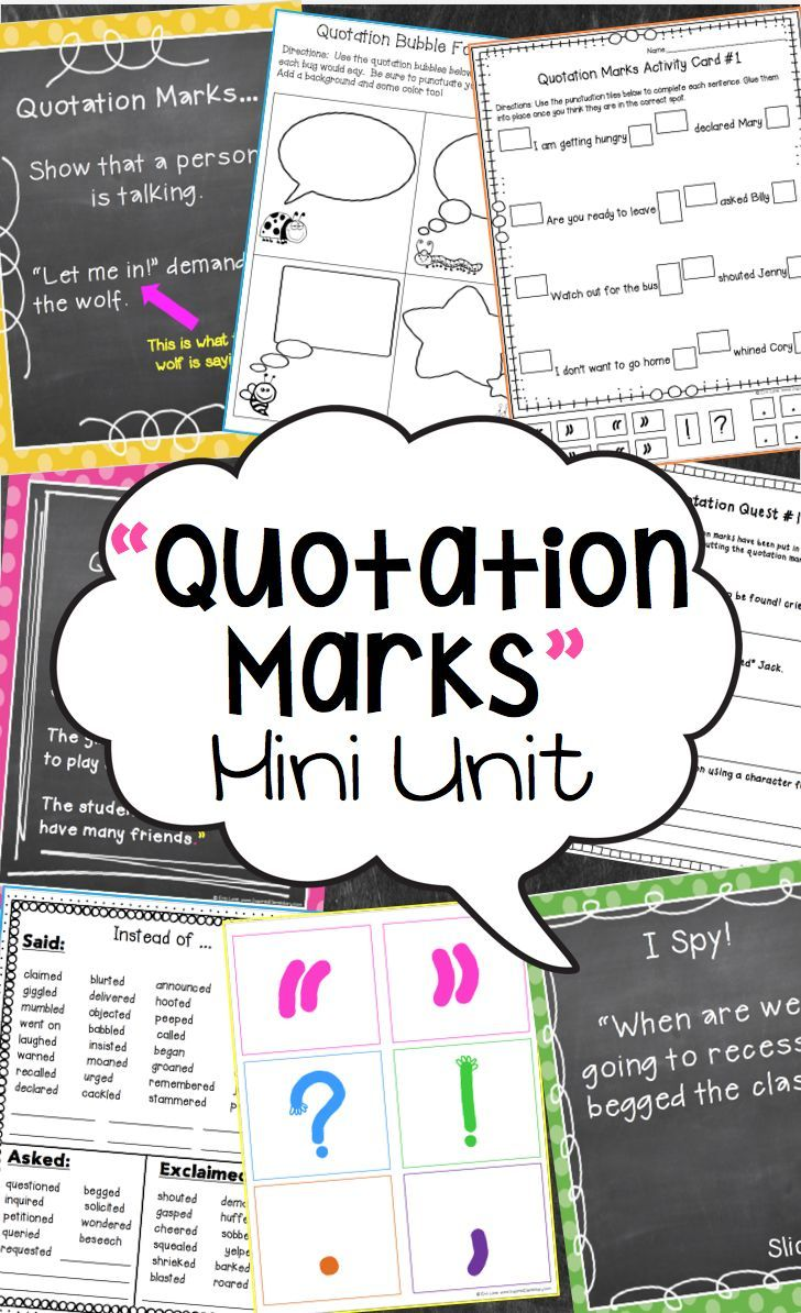 how to use quotation marks practice