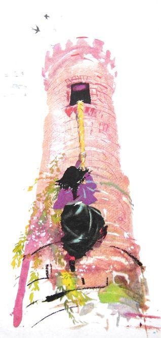 Rapunzel by Janusz Grabianski