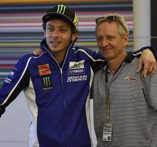 My 2 Heroes Valentino Rossi / Kevin Schwantz +1