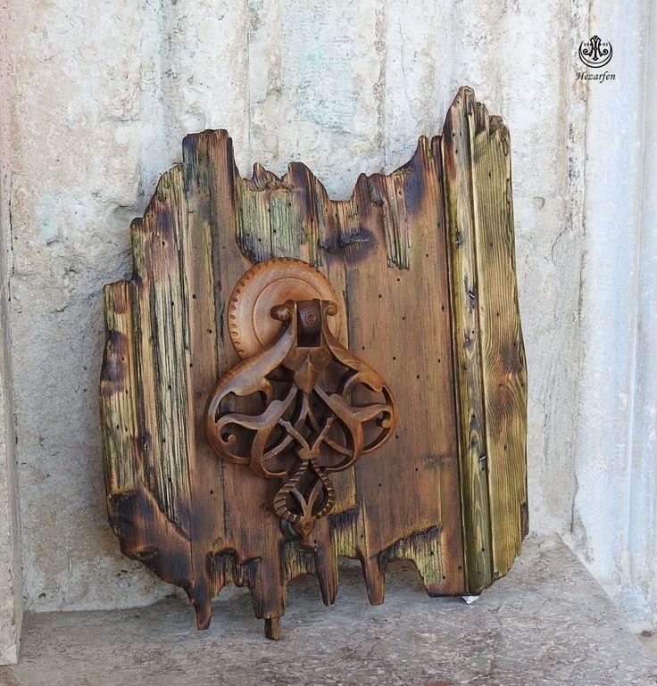 Kapı Tokmağı Rölyef  çalışması Murat ikiz farkı ile