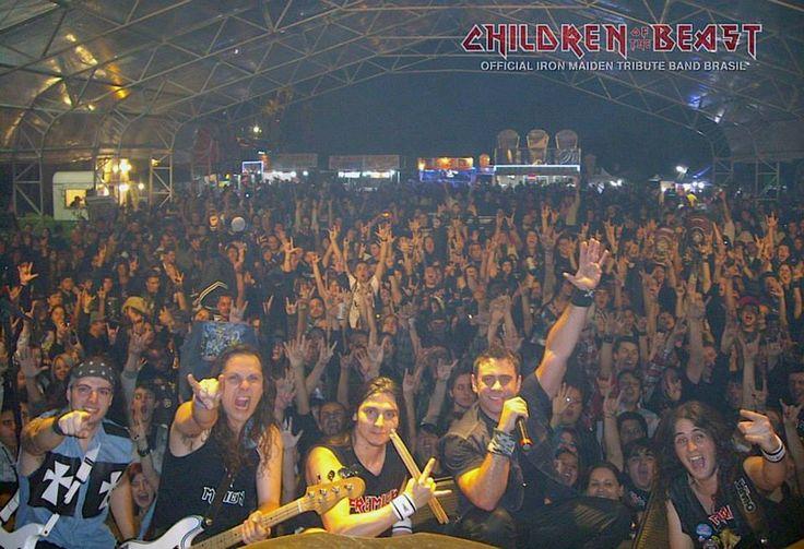 Encontro de Motociclistas - Children of the Beast show #rocknroll \o/