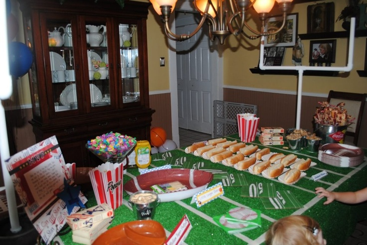 1893 Best Images About Bakery On Pinterest: 22 Best Sports Themed Birthday Party Images On Pinterest