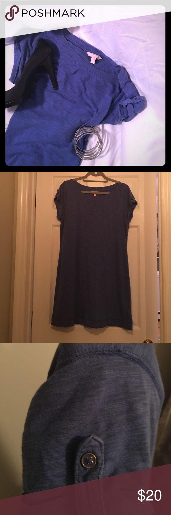 Banana Republic Tshirt Dress T-shirt. No rips or stains. Banana Republic Dresses Midi