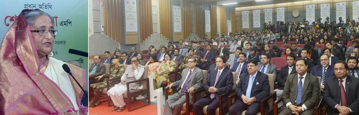 POLITICS FOR THE PEOPLE.  Officials who work in the public administration should have utmost sincerity in resolving the problems of local people. Stand beside them and earn their confidence: HPM #SheikhHasina tells latest batch of #Bangladesh's civil servants.