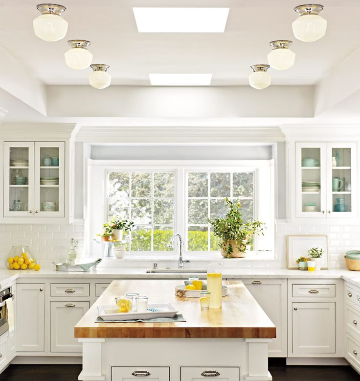 Bryant schoolhouse flush mounts, skylights, layout  | Rejuvenation