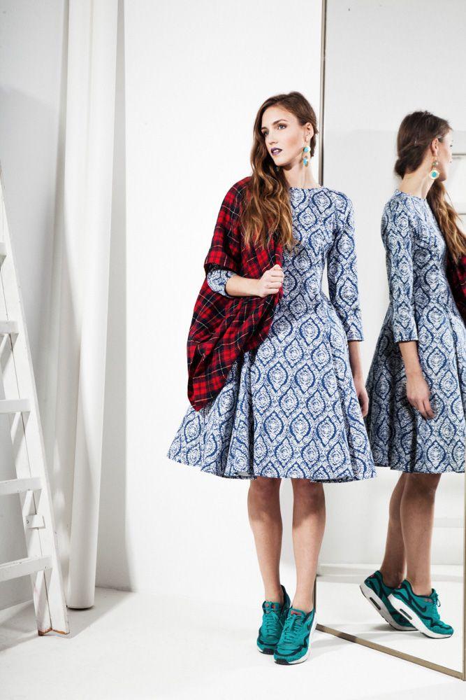 50s style Dress 475zł / 137$ 100% Cotton, Petticoat 113zł / 33$ Lining-viscose / Tule-polyester