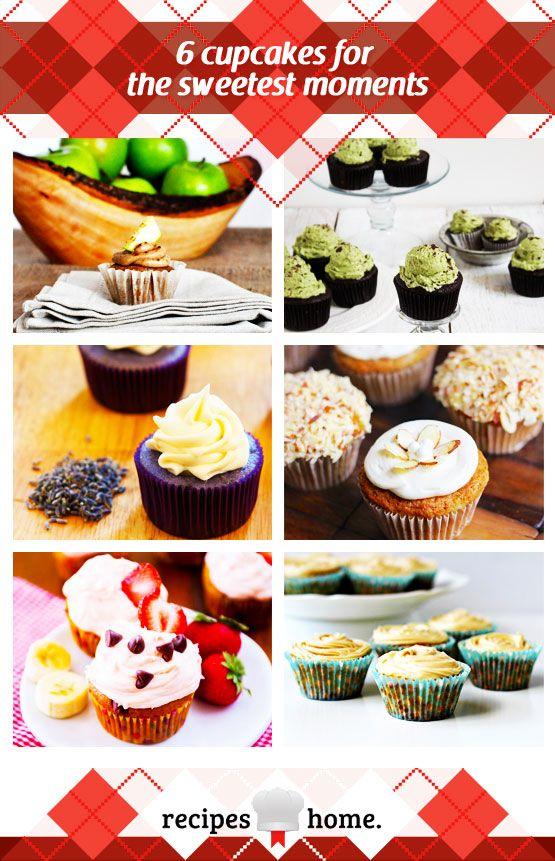 ... Cupcakes, Lavender-Lemon Cupcakes, Zucchini Almond Cupcakes, Banana