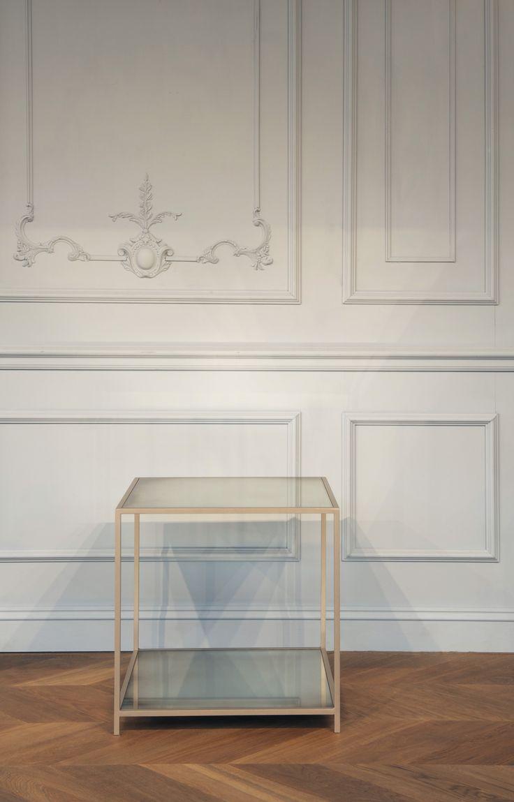 Our Lexington side table.  http://www.tomfaulkner.co.uk/