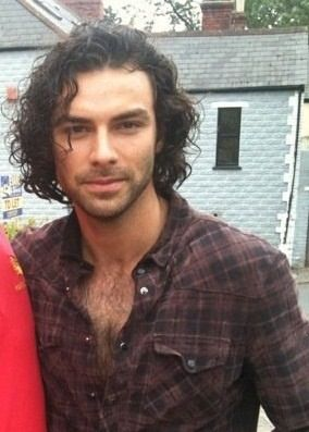 Aidan Turner. Yet more proof that all good things come from either Ireland or Scotland.
