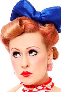 Coiffure Ann E 50 Pin Up Ann Es 50 Pinterest Coiffures Red Lips And The O 39 Jays