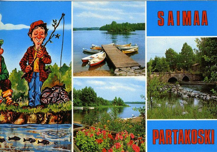 #Saimaa #Partakoski